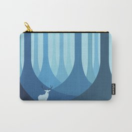 Blue forest Carry-All Pouch