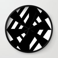 random Wall Clocks featuring Random by Enver Yigit