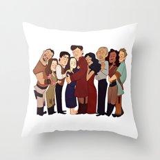 Firefly Crew Hug Throw Pillow