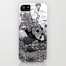 Land of the Sleeping Giant (ink drawing) iPhone (5, 5s) Slim Case