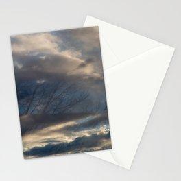 train window Stationery Cards