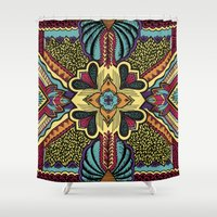 persian Shower Curtains featuring Persian by Guanabana