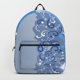Beautiful snow maiden Backpack