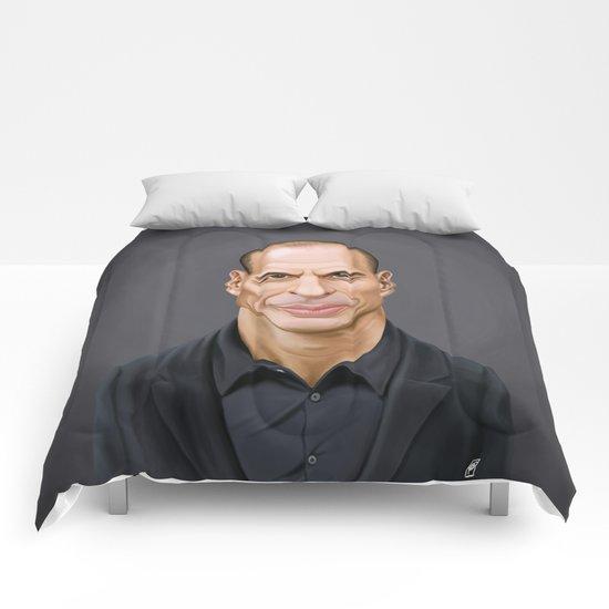 Celebrity Sunday ~ Yanis Varoufakis Comforters