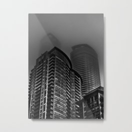 Downtown Toronto Fogfest No 22 Metal Print