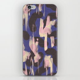 Paint Marks Camo Abstract Pattern iPhone Skin