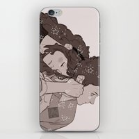 twins iPhone & iPod Skins featuring twins by JohannaTheMad