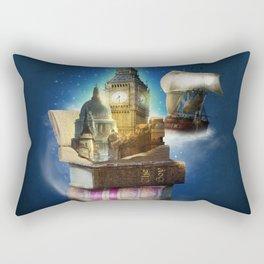 Stories from the second star Rectangular Pillow