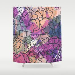 Tapestry Batik Shower Curtain