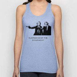 Brahms & Beethoven Guardians of the Symphony Unisex Tank Top