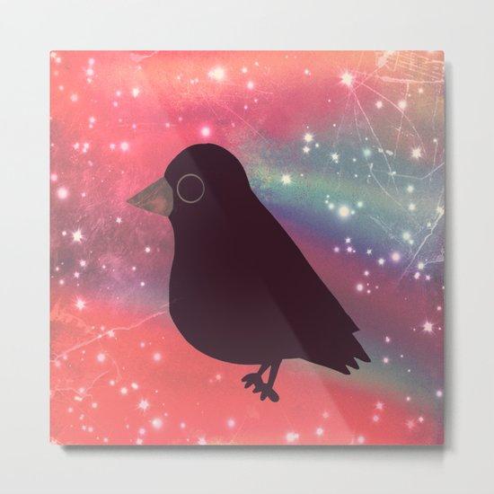 crow-21 Metal Print