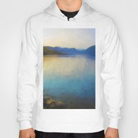 scotland Hoodies featuring Scotland Landscape by Hail Of Whales