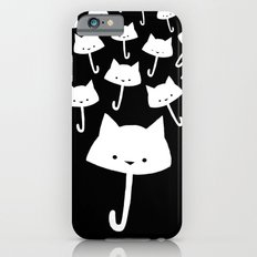 minima - cat rain iPhone 6s Slim Case