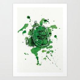 Salazar Slytherin Art Print