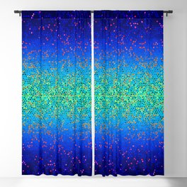 Glitter Star Dust G247 Blackout Curtain
