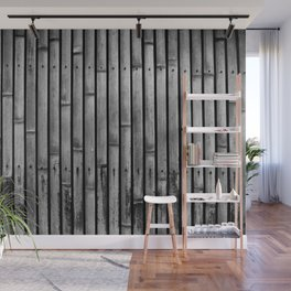 Kyoto Textures I: Split Bamboo Wall Mural