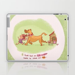 Little neighbor! Pets! Laptop & iPad Skin