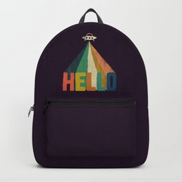 Hello I come in peace Backpack