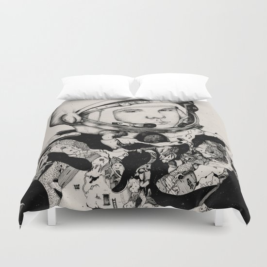 From Gagarin's Point Of View  Duvet Cover