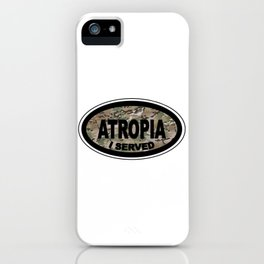 Atropia Camo Badge iPhone Case