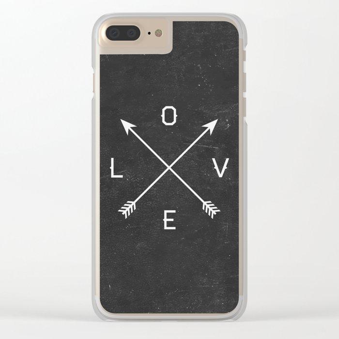 Love Clear iPhone Case