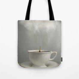 Raining Tea Tote Bag