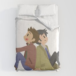 Supernatural - Destiel [Commission] Comforters