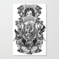 rome Canvas Prints featuring Rome by DIVIDUS