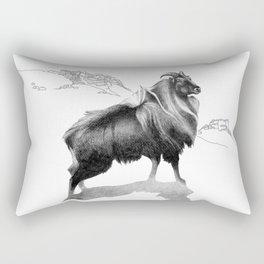 Tahr / Thar Rectangular Pillow