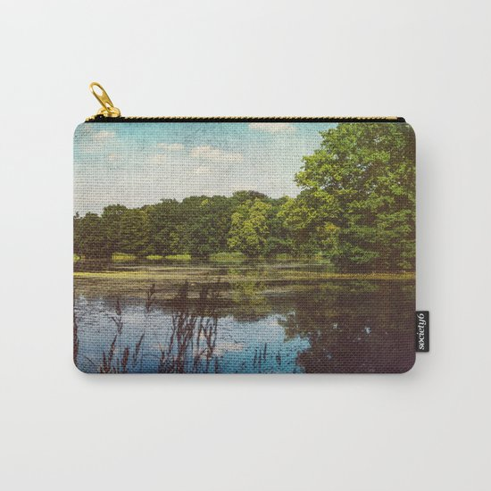 Summer Lake Landscape Carry-All Pouch