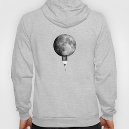 Moon and fork Hoody