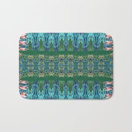 Nature at the Edge of Time Bath Mat
