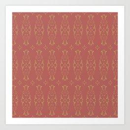 Relic Pattern Art Print