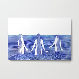 Sirens Call Metal Print