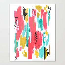 Watermelon Abstract  Canvas Print