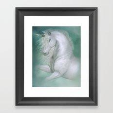 Magic Unicorn Framed Art Print