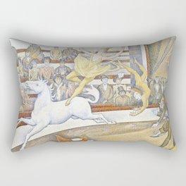 Georges Seurat - The Circus Rectangular Pillow