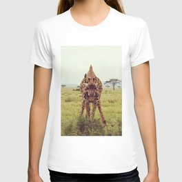 Giraffe Wants to Know T-shirt