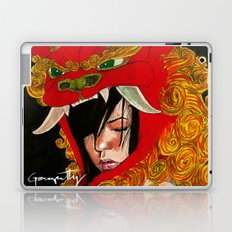 Foo Dog Slayer Kat Laptop & iPad Skin