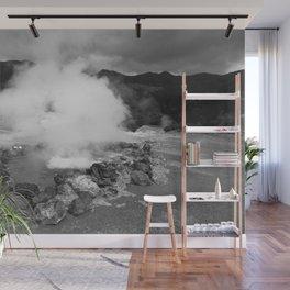 Hot spring Wall Mural