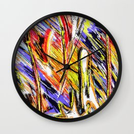 Matt Texture 4 - Dawn Wall Clock
