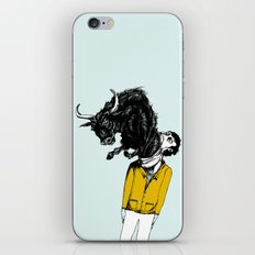 what is likely to happen when one is full of bull iPhone & iPod Skin