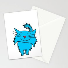 Happy Blue Cat Stationery Cards