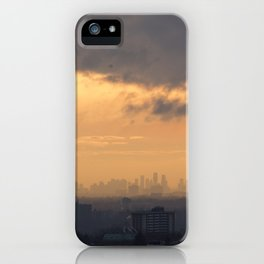 City Sky. iPhone Case