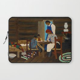 African American Masterpiece 'Giving Thanks' by Horace Pippin Laptop Sleeve