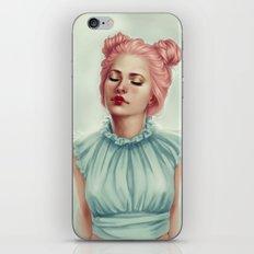 Doll heart iPhone & iPod Skin