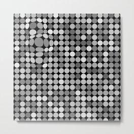 polka 3d dots Metal Print