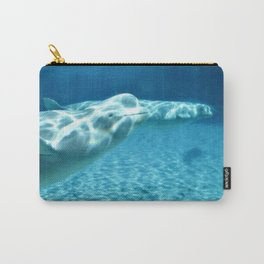Ocean Blue Beluga Pairs Version 1 Carry-All Pouch