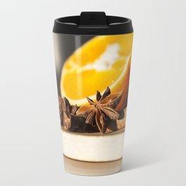 Appelsin Stjerne Travel Mug