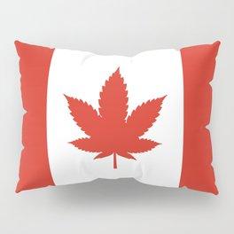 O Canada! (Hemp Flag) Pillow Sham